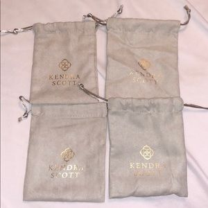 4 FOR 5: Kendra Scott Dust Bags